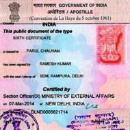 Marriage Certificate Apostille Attestation in G.T.B. Nagar Mumbai